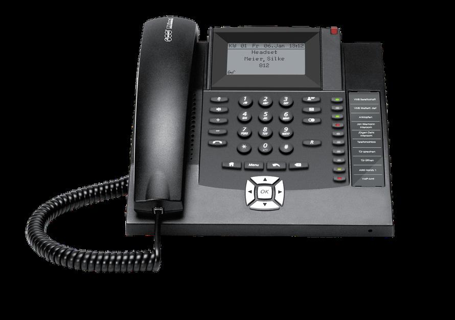 Auerswald Telefonanlage COMfortel 1200 (ISDN) schwarz,  presented by SafeTech
