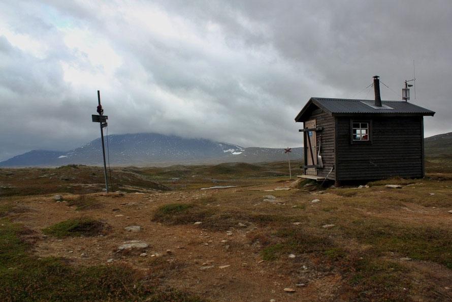 Miesehketjahke-Windschutzhütte