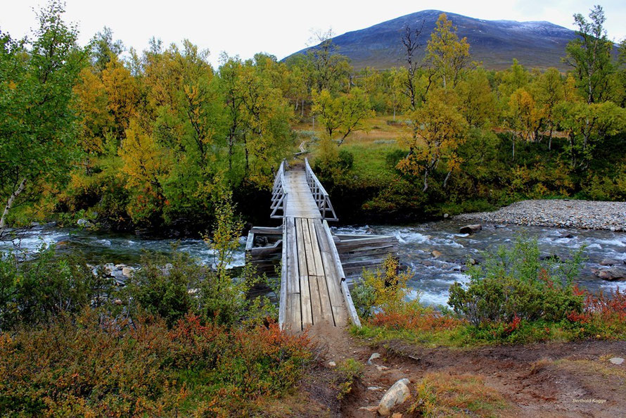 Brücke über den Tjallingån