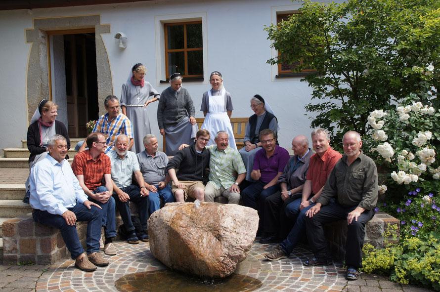 Männerfreizeit  Hof Birkensee (ora et labora)  30.06. - 03. 07. 2016
