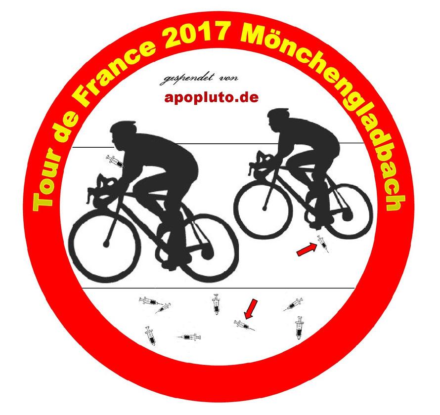 Tour de France 2017, Mönchengladbach, Demoplakat