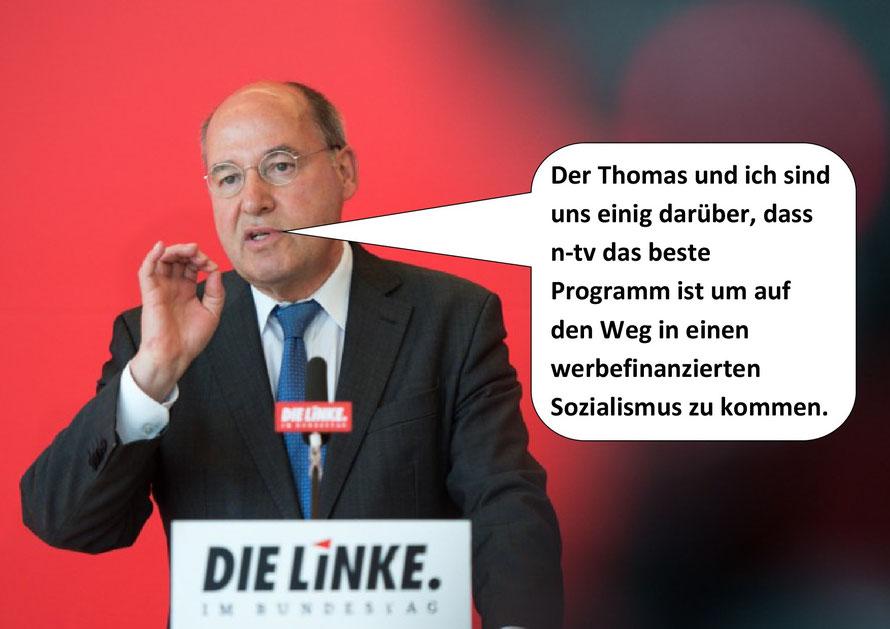 Gregor Gysi, Der n-tv Jahresrückblick.