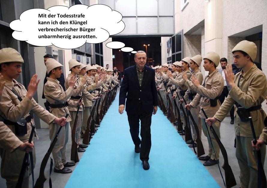 Recep Tayyip Erdogan, Despot