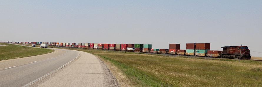Die canadische Prairie