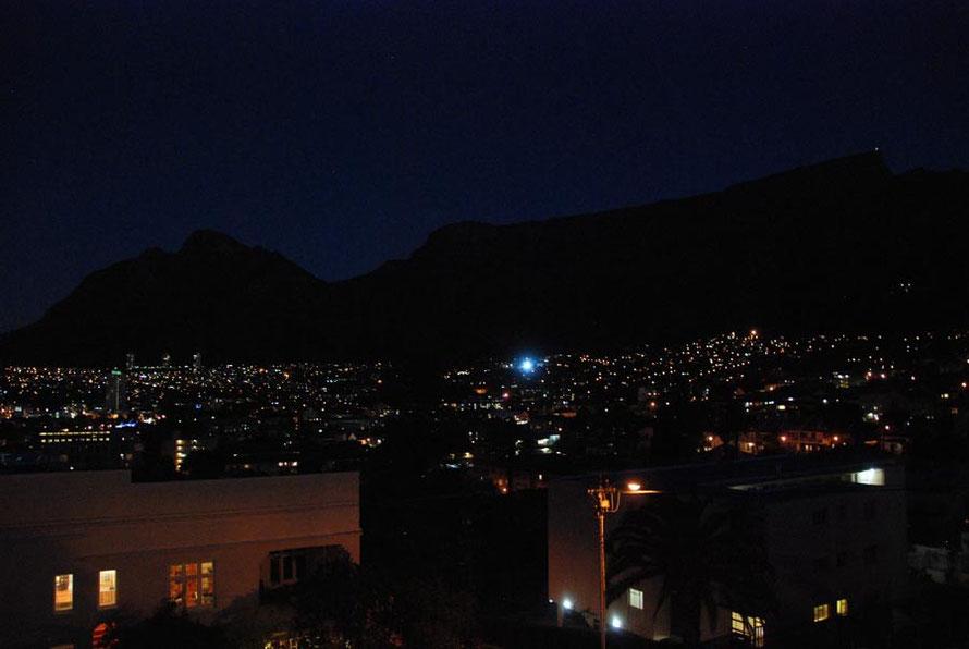 Cape Town night Tamboerskloof