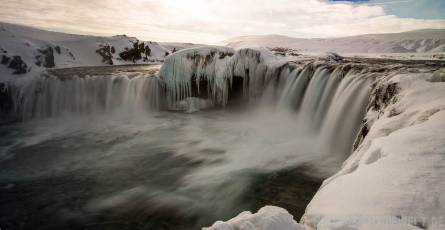 Goðafoss,iceland,tipps,car,winter,february,north