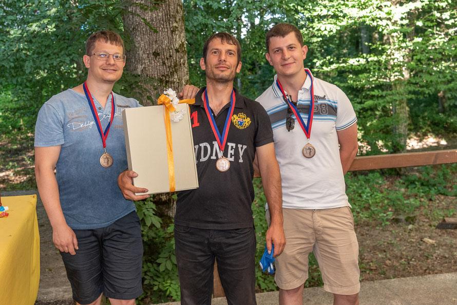 """""""Bächle Clan"""" erreicht 3. Platz beim Bouleturnier"""