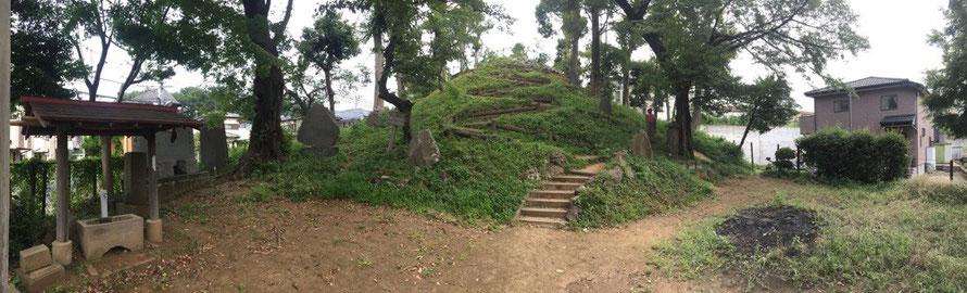 Nakazato Mt. Fuji Tokyo Kiyose walking historical tourist spot TAMA Tourism Promotion - Visit Tama 中里富士山 東京都清瀬市 富士塚 散策 歴史 観光スポット 多摩観光振興会