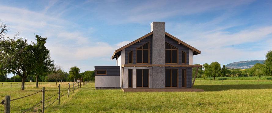 image en 3d, permis de construire, ocoeurdesplans.com