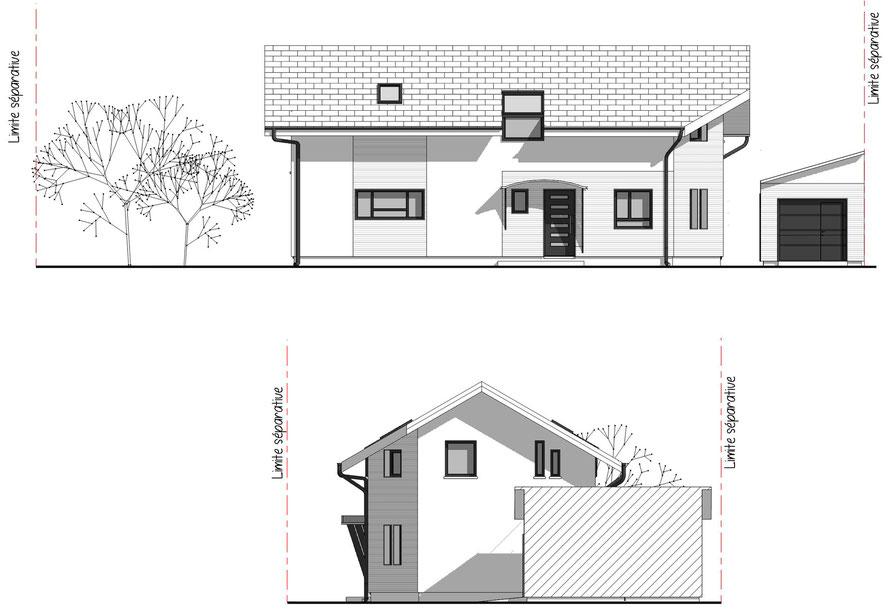 pcmi 5 élévations, architecture région Annecy