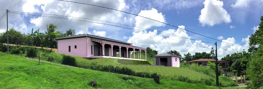 image en 3D pour un permis de construire, La Martinique
