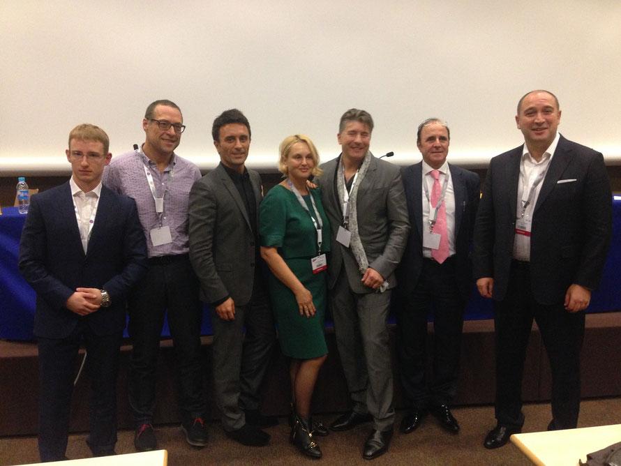 Участники секции эстетической гинекологии Европейского Научно-Практического Конгресса по Эстетической и Anti-ageing Медицины (AMEC 2014)