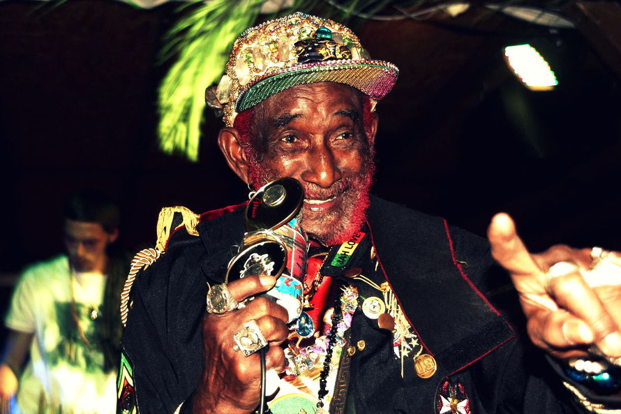 Backing Lee Scratch Perry