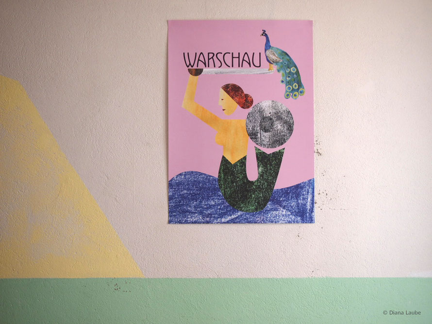 Warschau City Poster Konntest Human Empire
