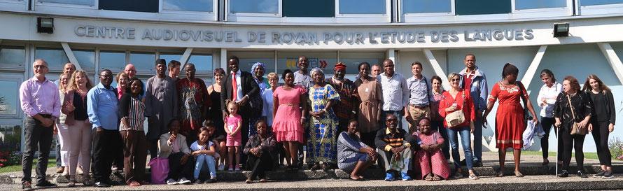 CAREL de Royan, stagiaires de méthodologie FLE, familles d'accueil, équipe pédagogique, équipe administrative