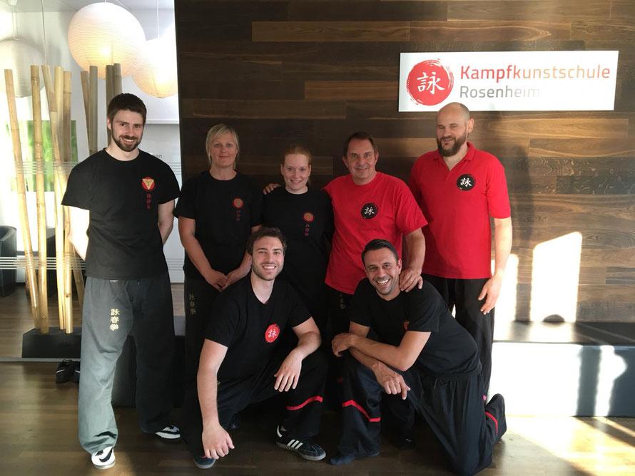 Die Ausbilder der Kampfkunstschule Rosenheim - Bad Aibling