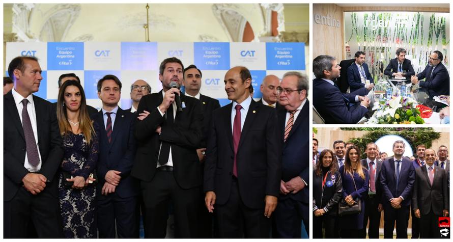 Argentina se presentó en Fitur 2020 con un stand de 200 metros cuadrados