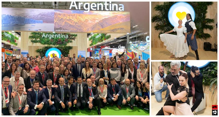 El sector turístico acompañó el stand argentino de Fitur 2020