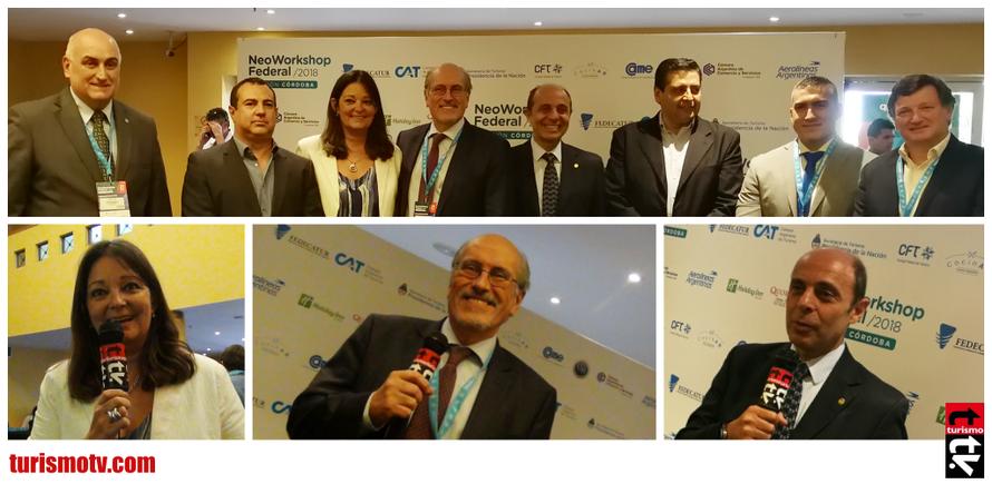 Héctor Viñuales, Fedecatur, Aldo Elías, Cámara Argentina de Turismo,  Natalia Ponferrada , Catamarca Turismo