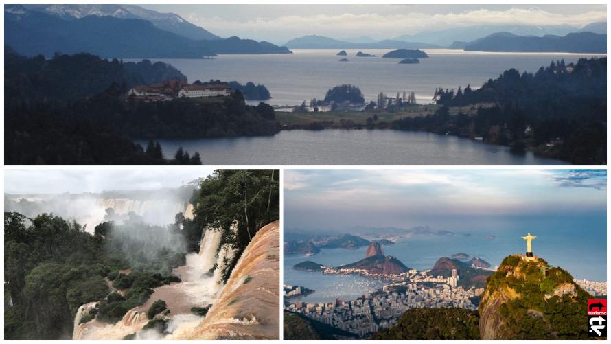Turismo en Sudamerica o América del Sur
