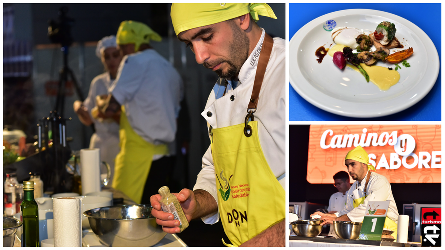 Fehgra en Caminos y Sabores Primer Torneo Nacional de Gastronomía Saludable
