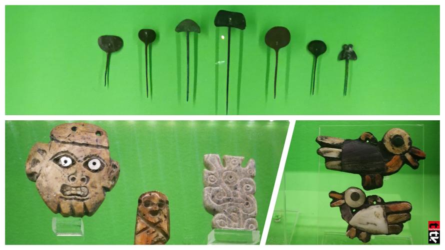 Piezas arte precolombino Cultura Inca Shincal Valdivia