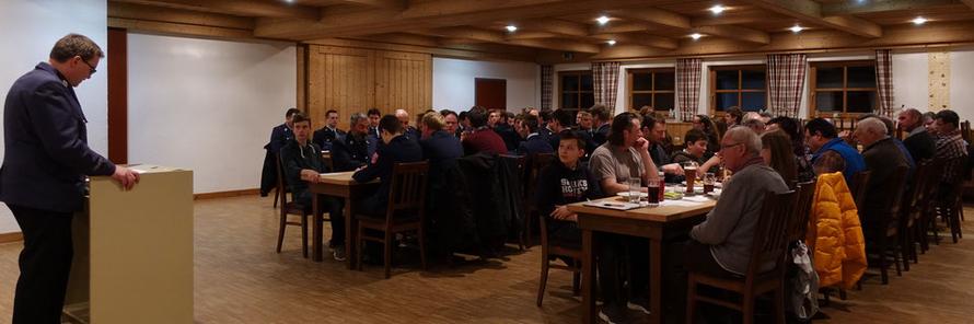 15.03.2019 Hautpversammlung der Freiwilligen Feuerwehr Ermengerst