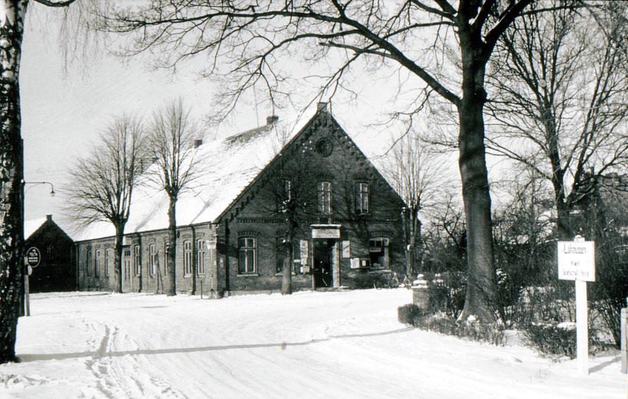 Foto im Winter 1955 6