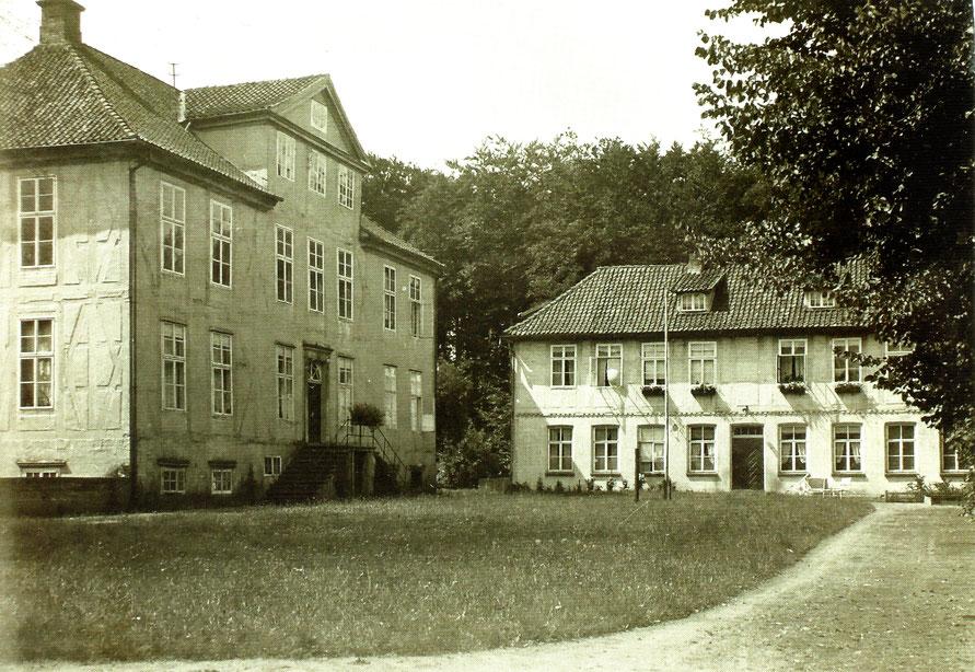 Der Sudweyher Gutshof um 1930 / Foto: Gemeindarchiv Weyhe