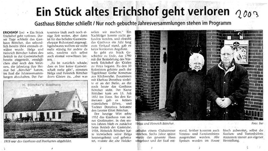 Kreiszeitung Syke v. 10.1.2003