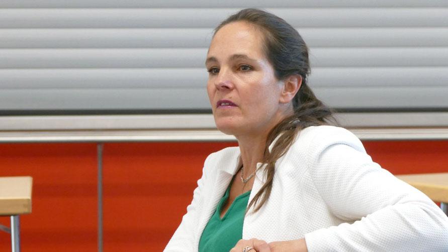 Die FDP-Fraktionsvorsitzende Annabell Krämer hatte den Antrag zur Abschaffung des Doppelhaushalts begründet