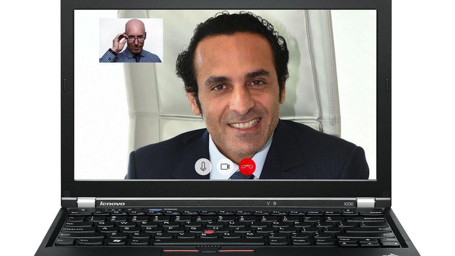 Kontakt halten über das Internet - das fördert die VHS mit einem speziellen Beratungsangebot (Foto: Pixabay)