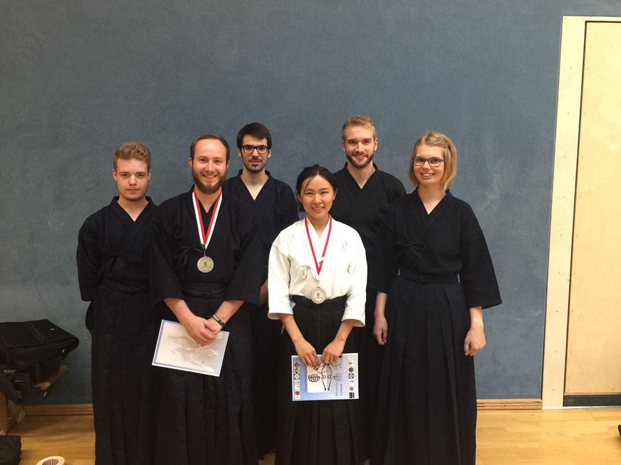 Teilnehmer offenes Hessen Turnier 2017 25.06.2017
