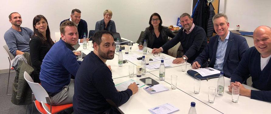 Arbeitssitzung des wirtschaftlichen Beirats der Bayreuther Sportökonomie