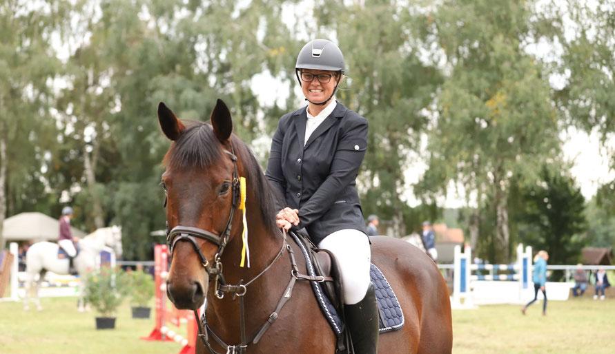 Maria Deutschmann gewinnt den Großen Preis von Hohenseeden. Foto: Stefana-Picture