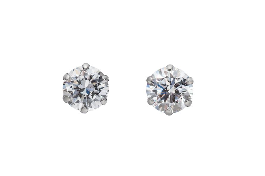 合成ダイヤモンド パッションダイヤモンド ピアス