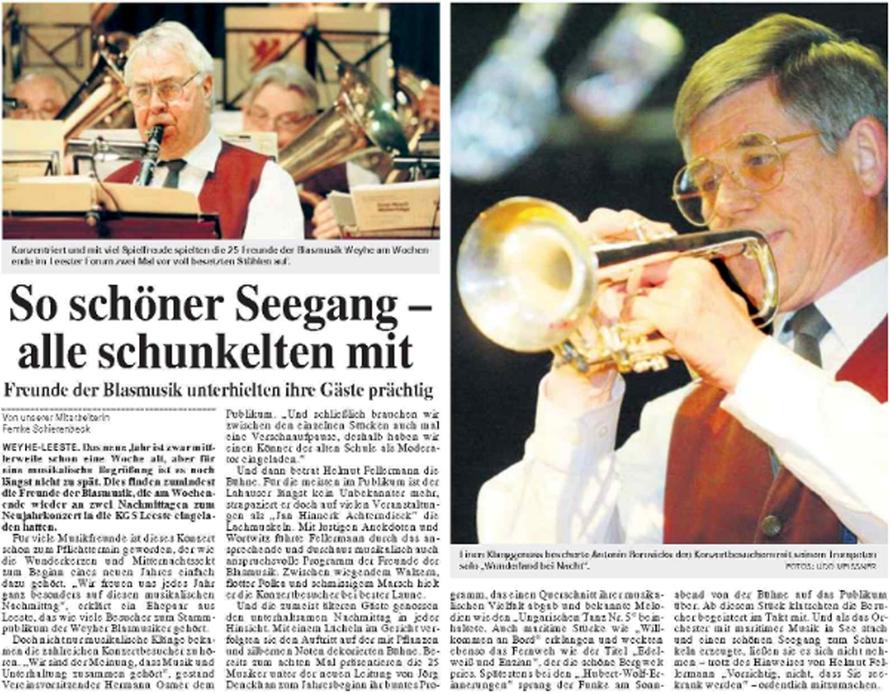 Weser-Kurier 09.01.2006