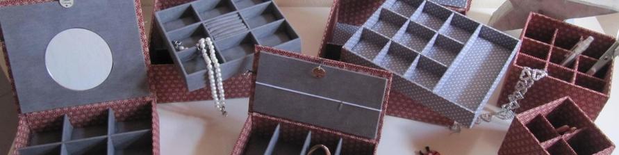 Schmuck-Schatullen stabil handgemacht mit großer Auswahl an Ausstattung