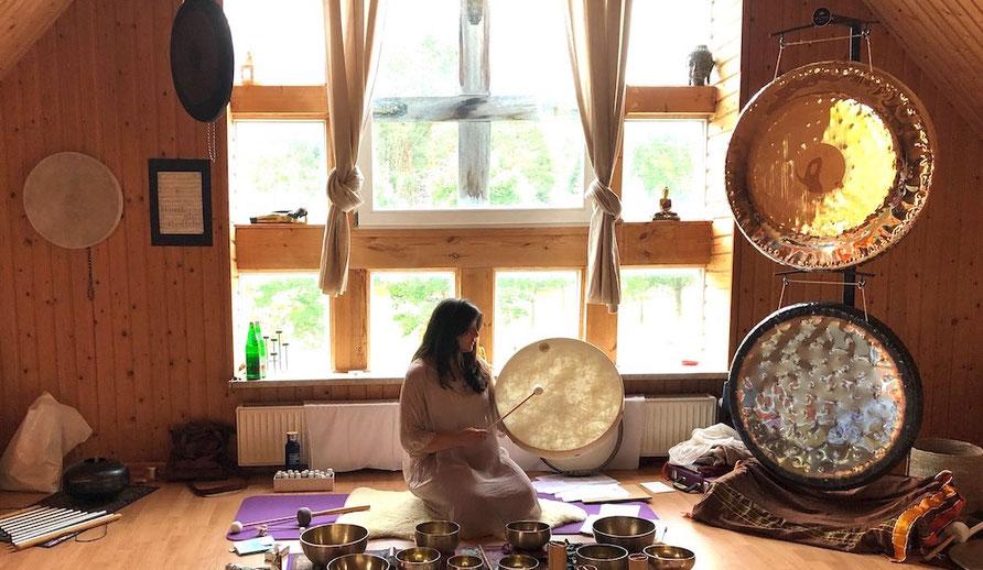 Sound Healing Retreat mit Sumann in Sagasfeld
