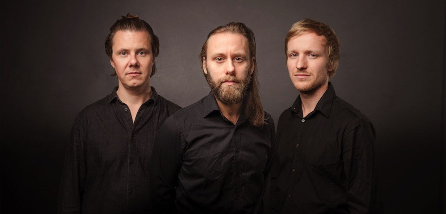 Eple Trio: Ulvo (Piano), Sigurd Hole (Kontrabass) und Jonas Howden Sjøvaag (Schlagzeug)