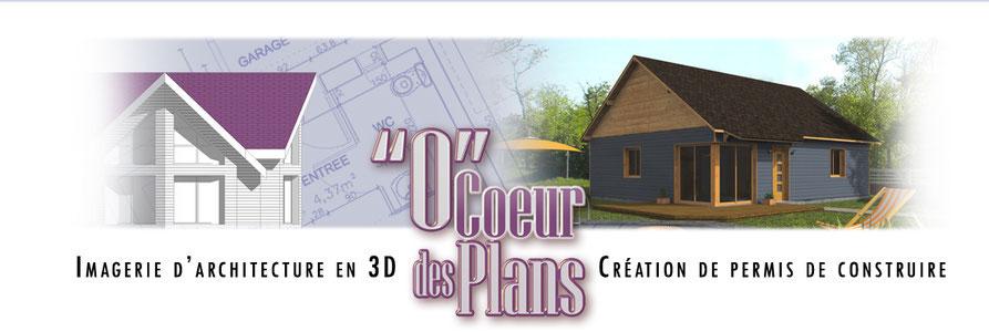 Permis de construire maison imagerie en 3d ocoeurdesplans for Construire maison en 3d