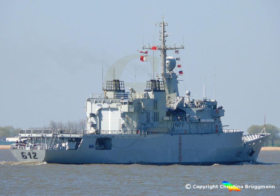 Fregatte RMNS HASSAN II F 612