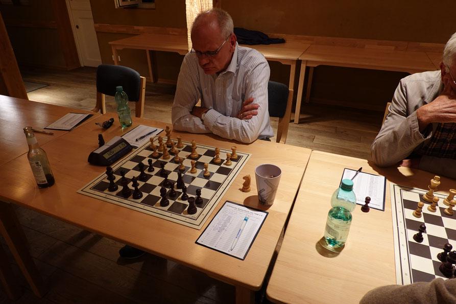 Kajo Mondorf lieferte die Überraschung des heutigen Abends und besiegte Stefan Klemm