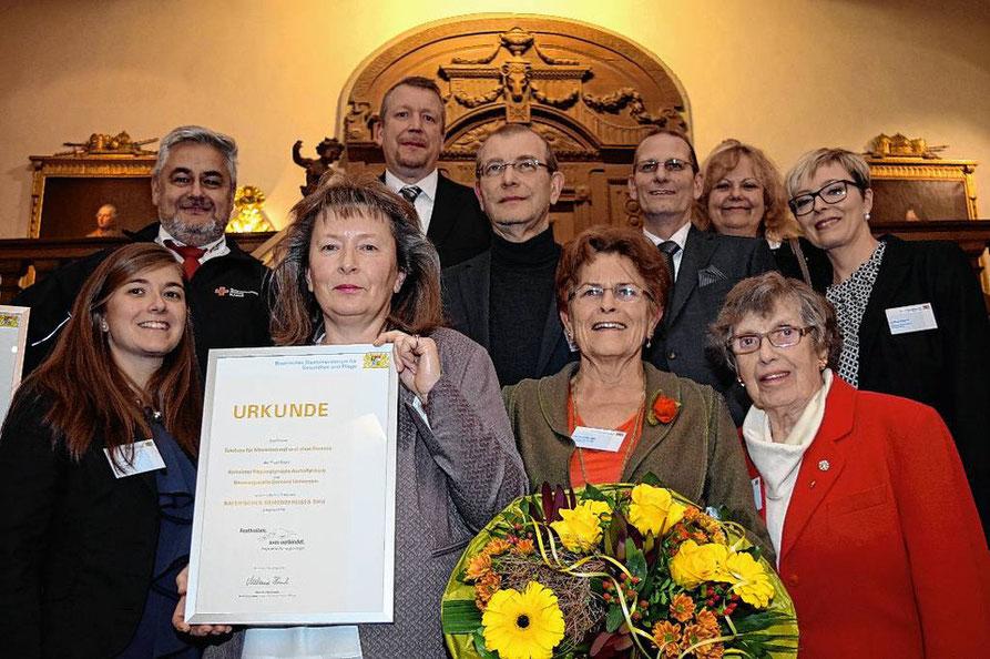 Demenzpreis 2016 Bayern Alzheimer Betroffene Angehörige