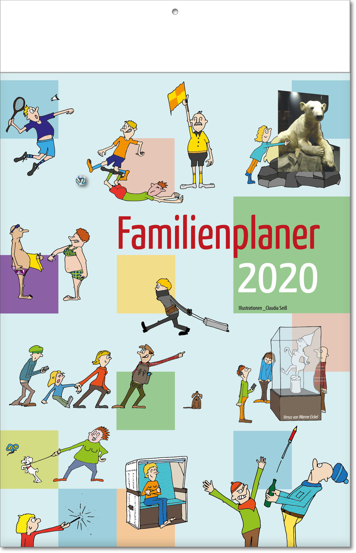 "Bildkalender ""Familienplaner "" 2019"
