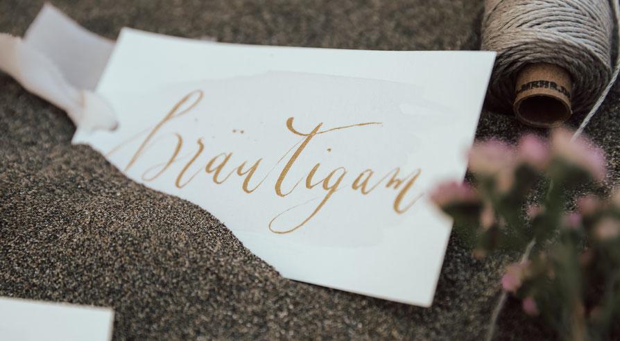 Philosophy Love Hochzeitsblog Sweet Stories Kalligraphie