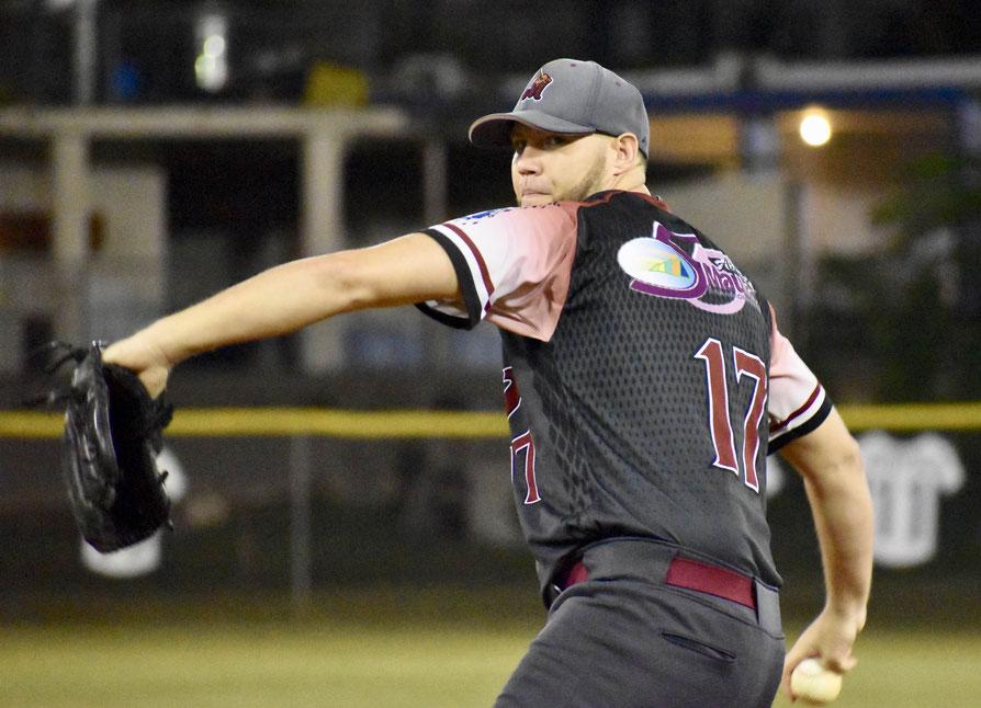 Iván Maldonado, lanzador de los Jueyeros / Foto por FBAPR