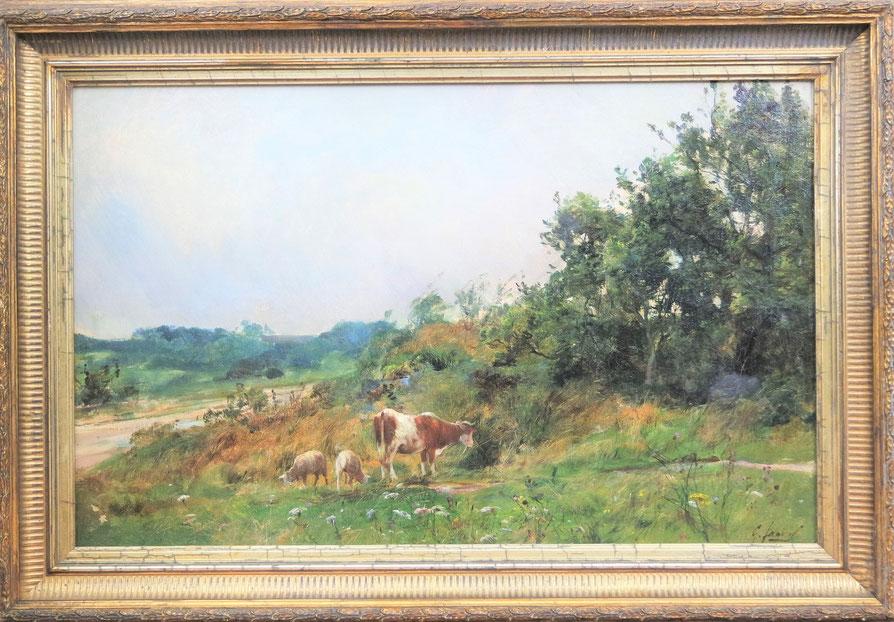 te_koop_aangeboden_een_schilderij_van_de_franse_kunstschilder_g_fauvel_havre_1890_franse_school