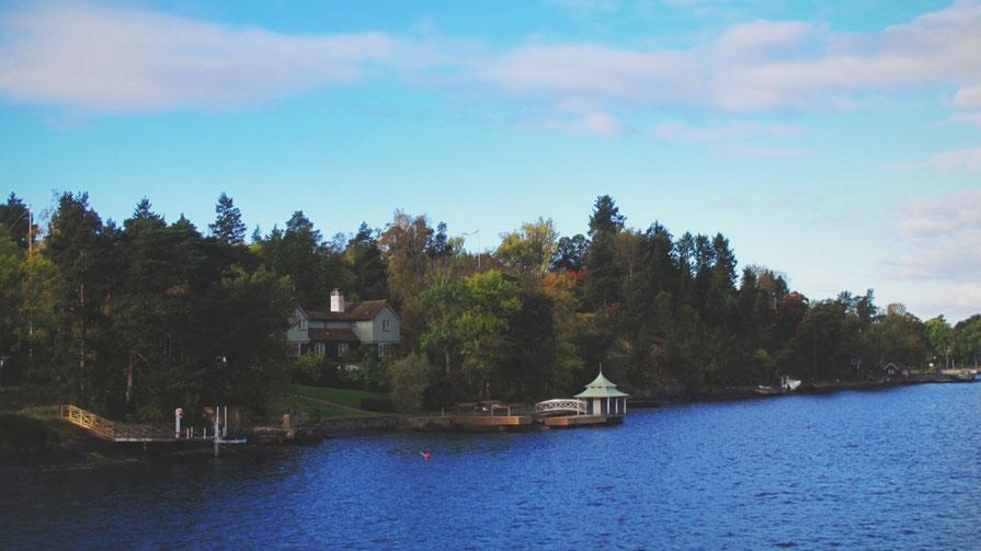 maison île stockholm archipel bigousteppes suède mer ciel bleu cabane