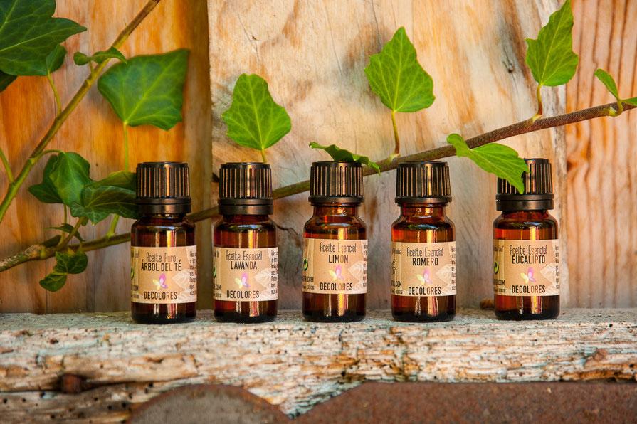 aceites esenciales-cosmética natural ecológica-decoloresnatur-naturaleza